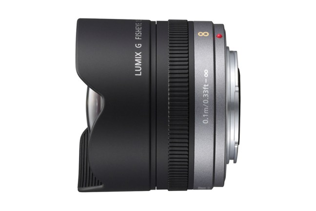 Panasonic Lumix G 8mm f:3.5 Fisheye Lens 02