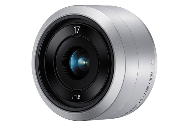 Samsung 17mm F1.8 Lens for NX mini 01
