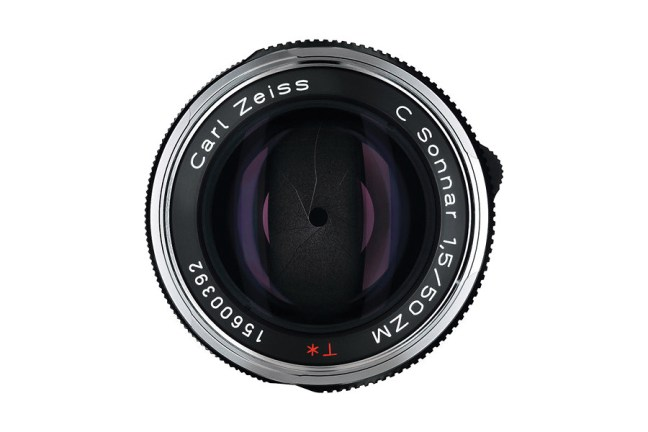 Zeiss C Sonnar T* 50mm f1.5 ZM Lens 03