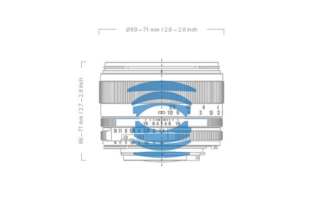 Zeiss Planar T* 50mm f1.4 Lens 11