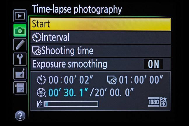 Nikon D810 Menu 02