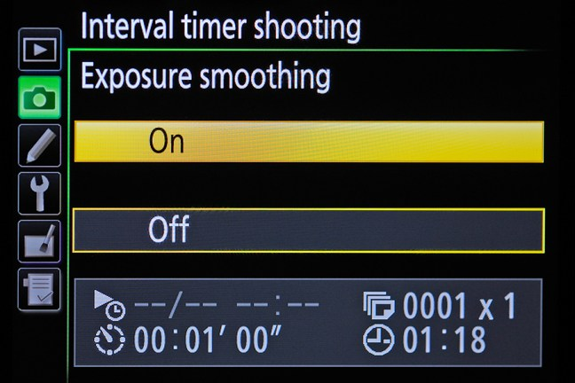how to get rid of camera click on time lapse