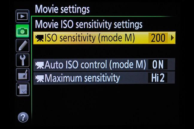 Nikon D810 Menu 08