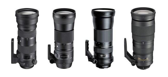 Long lens comparison
