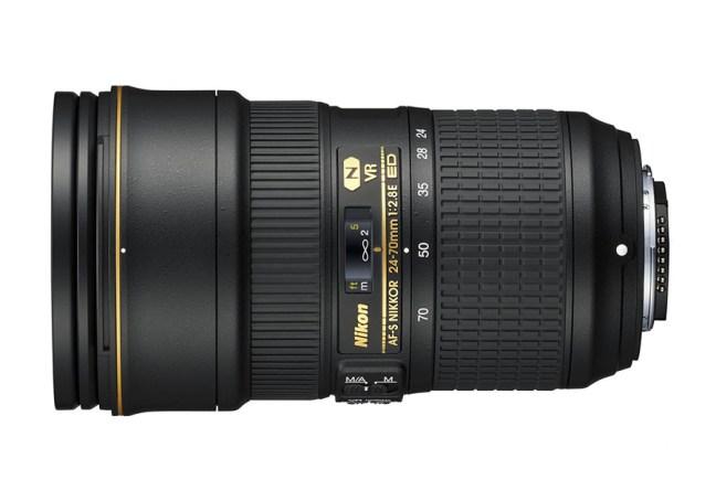 Nikon AF-S NIKKOR 24-70mm f:2.8E ED VR Lens 01