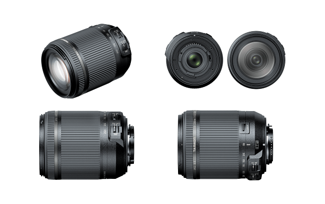 Tamron 18-200mm F3.5-6.3 Di Ⅱ VC Lens 01