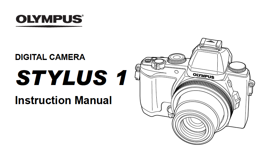 Olympus Stylus 1s Instruction or User's Manual Available