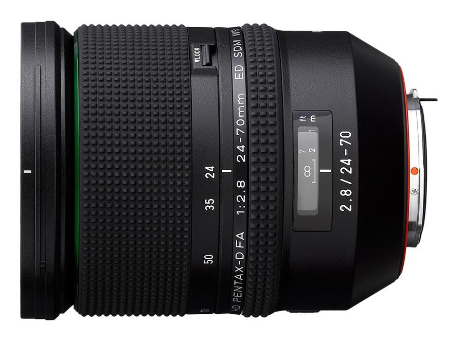 Ricoh HD PENTAX-D FA 24-70mm F2.8 ED SDM WR Lens