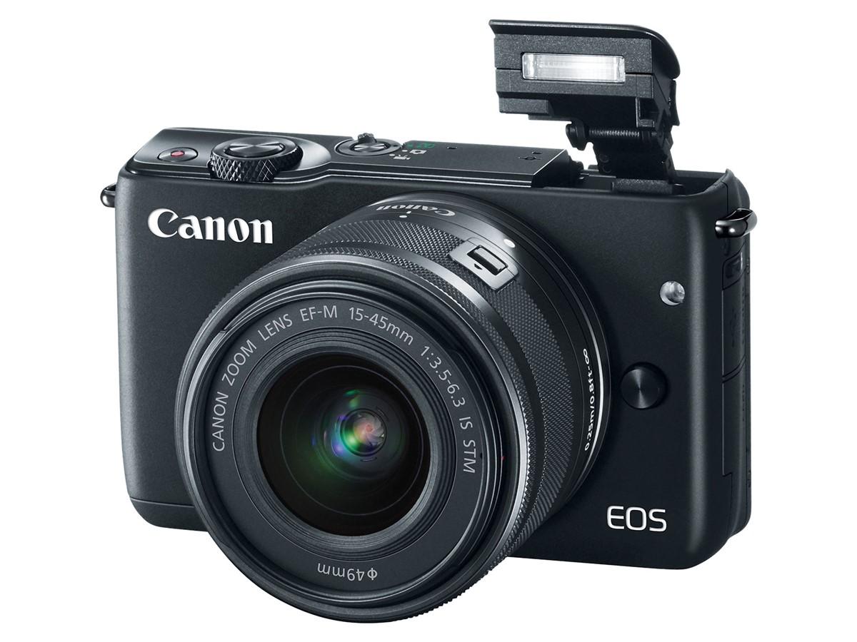 Canon EOS M10 - Flash