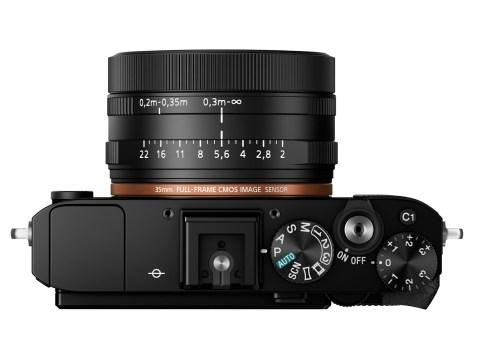 Sony Cyber-shot RX1R II - TOP