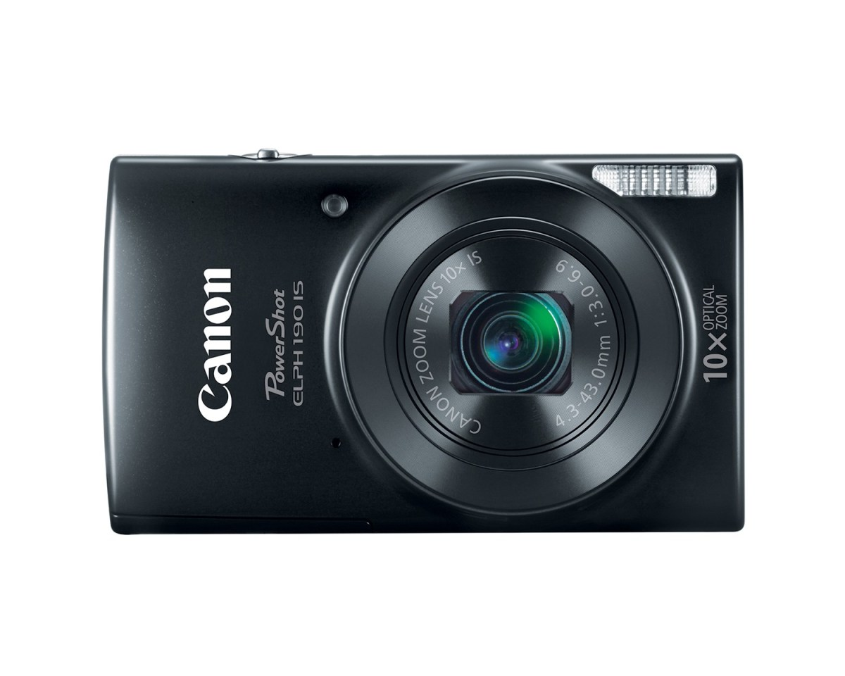 Canon PowerShot ELPH 190 IS - Black