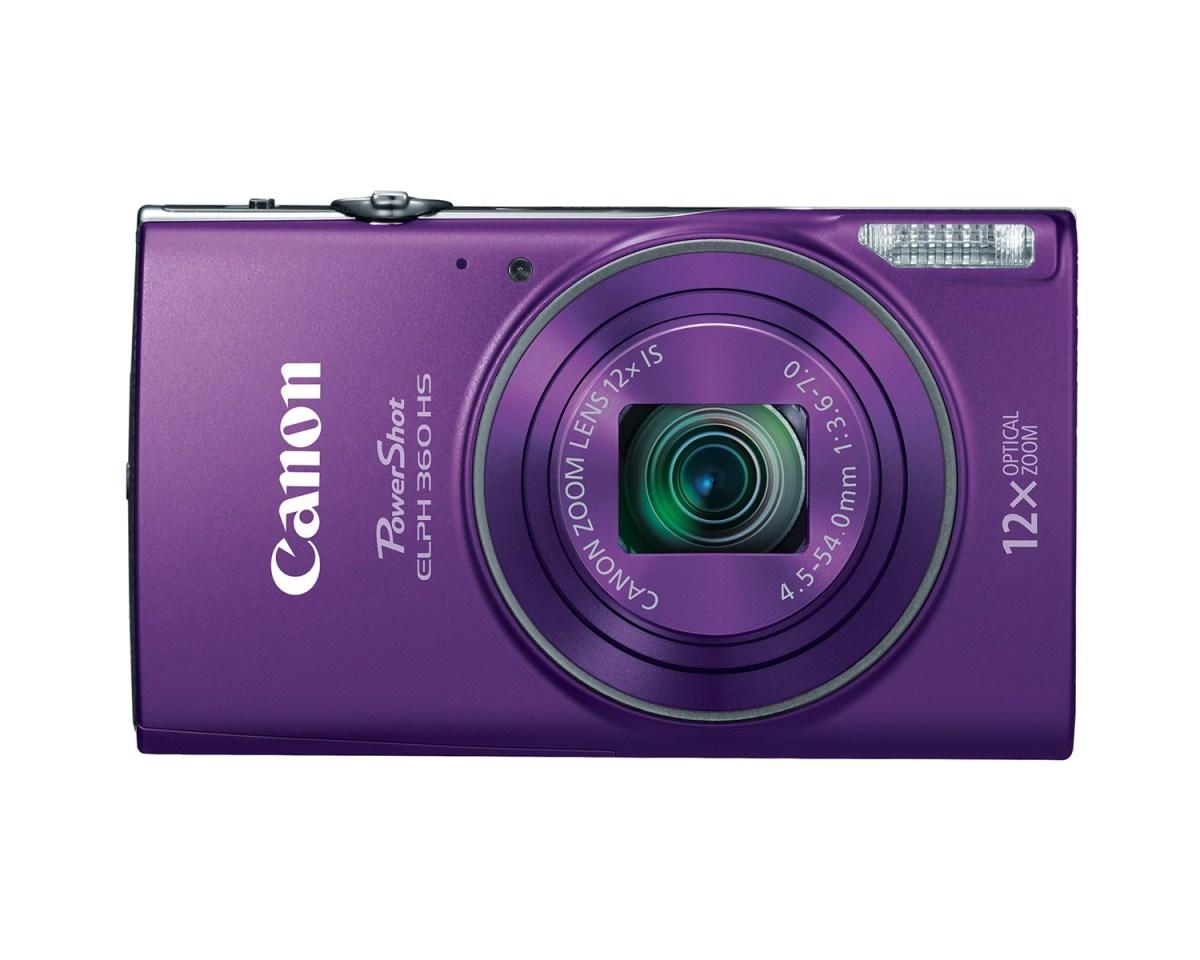 Canon PowerShot ELPH 360HS - Purple