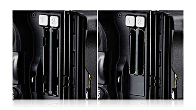 Nikon D5 Memory