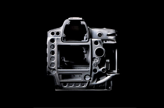Nikon D5 body construction 01