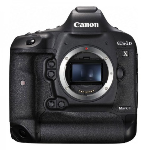 Canon EOS-1D X MARK II front