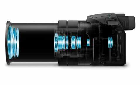 Sony Cyber-shot RX10 III - design