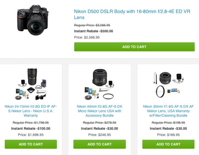 Nikon Rebate