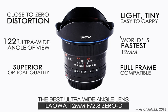 Venus Optics Laowa 12mm f:2.8 Lens