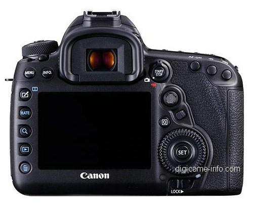 Canon EOS 5D Mark IV - back