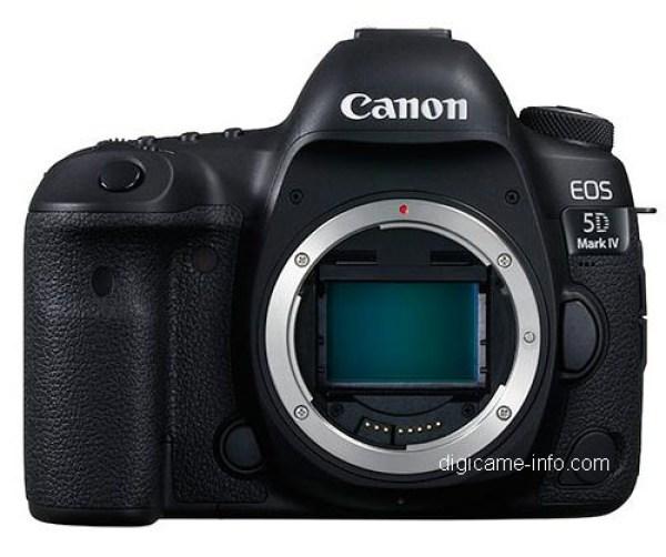 Canon EOS 5D Mark IV - front