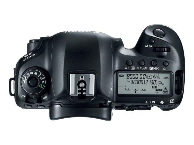 EOS 5D Mark IV - top