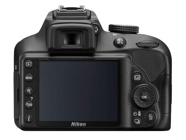 Nikon D3400- back