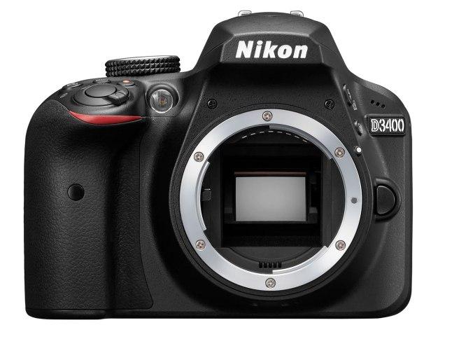 Nikon D3400- frnt