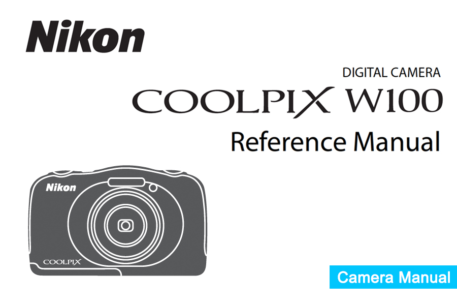 Nikon COOLPIX W100 Instruction or User's Manual Available
