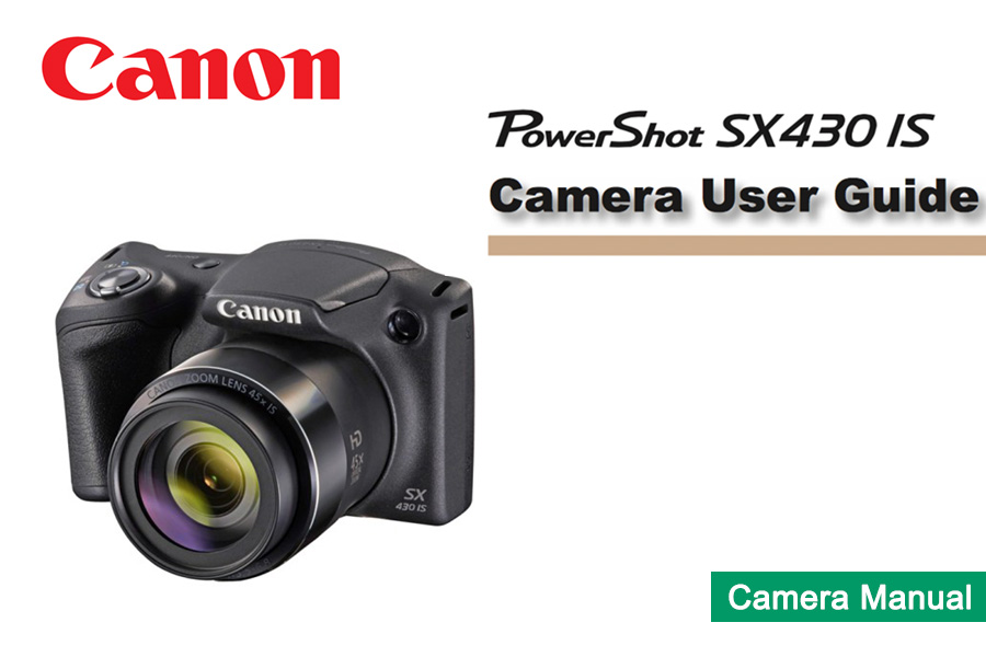 Canon PowerShot SX430 IS Manual pdf