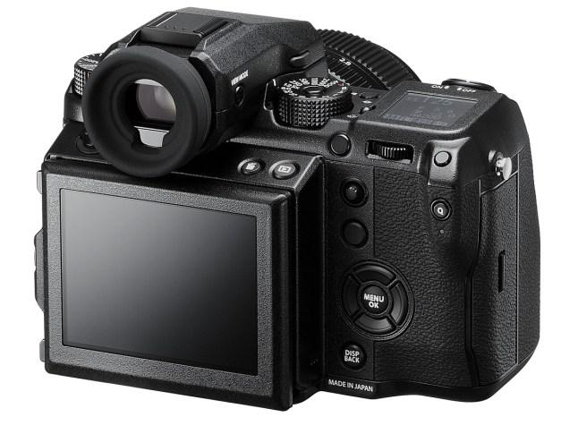 Fujifilm GFX 50S - LCD
