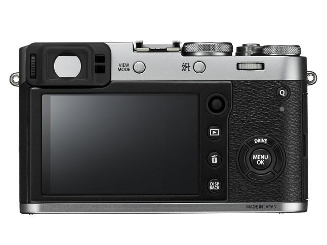 Fujifilm X100F Back