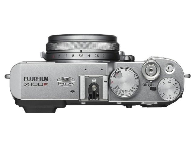 Fujifilm X100F - top