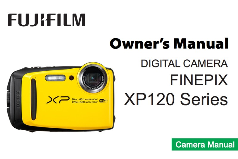 Finepix XP120 Owners Manual pdf