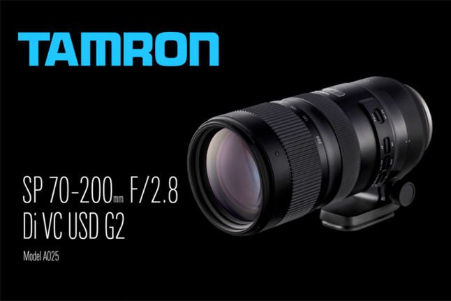 Tamron SP 70-200mm F/2.8 Di VC USD G2 (Model A025)