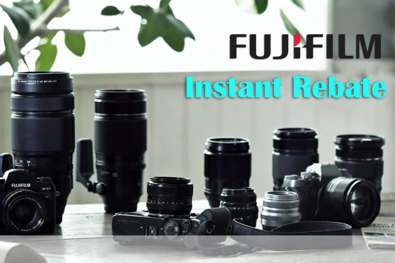 Fujifilm Instant Rebates