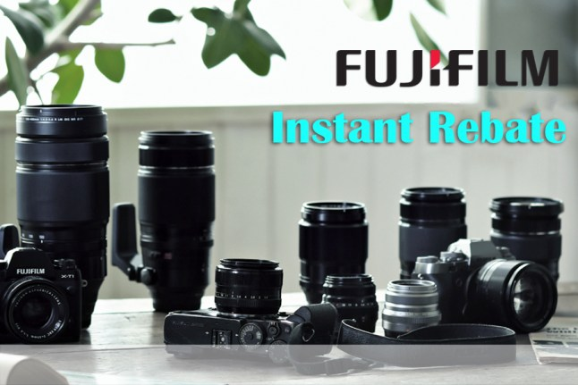 Fujifilm Instant Rebates