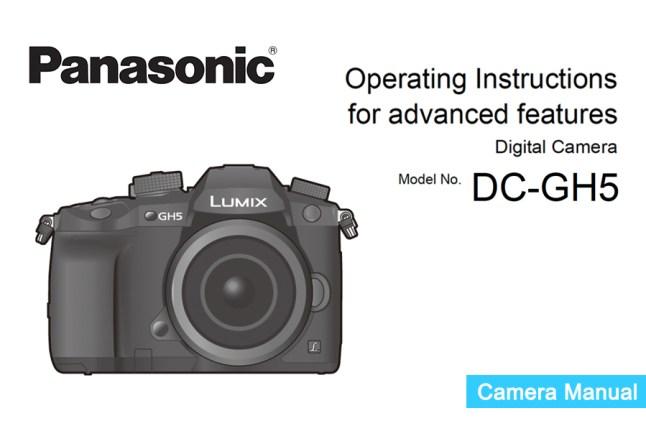 Panasonic Lumix DMC-GH5 Manual