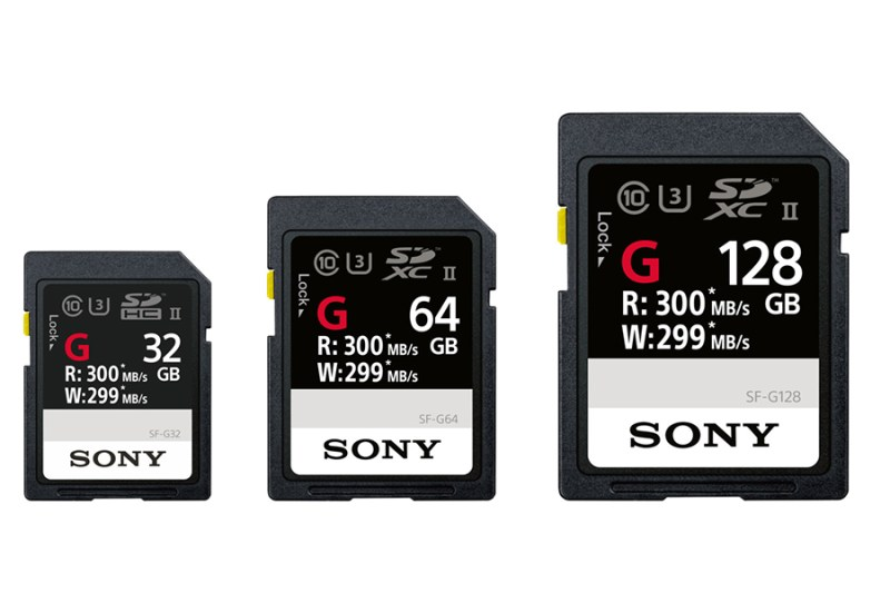 Sony SF-G Series UHS-II SDXC Memory Card