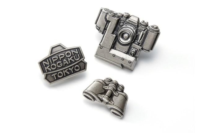 Nikon 100th Anniversary Pin Collection