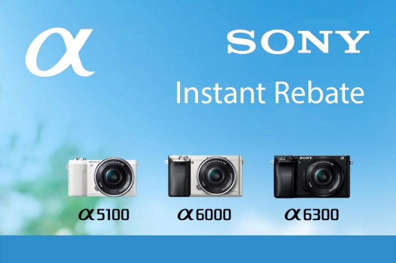 Sony Instant rebate
