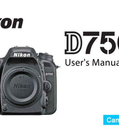 Nikon D5600 Instruction or User's Manual Available for