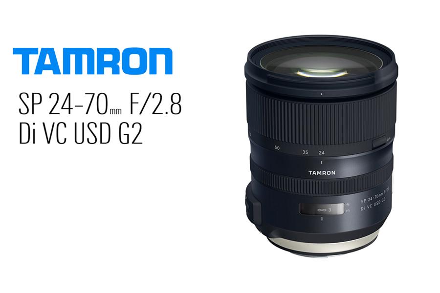 tamron introduces versatile high speed 24 70 mm f2 8 zoom lens digital photography live. Black Bedroom Furniture Sets. Home Design Ideas