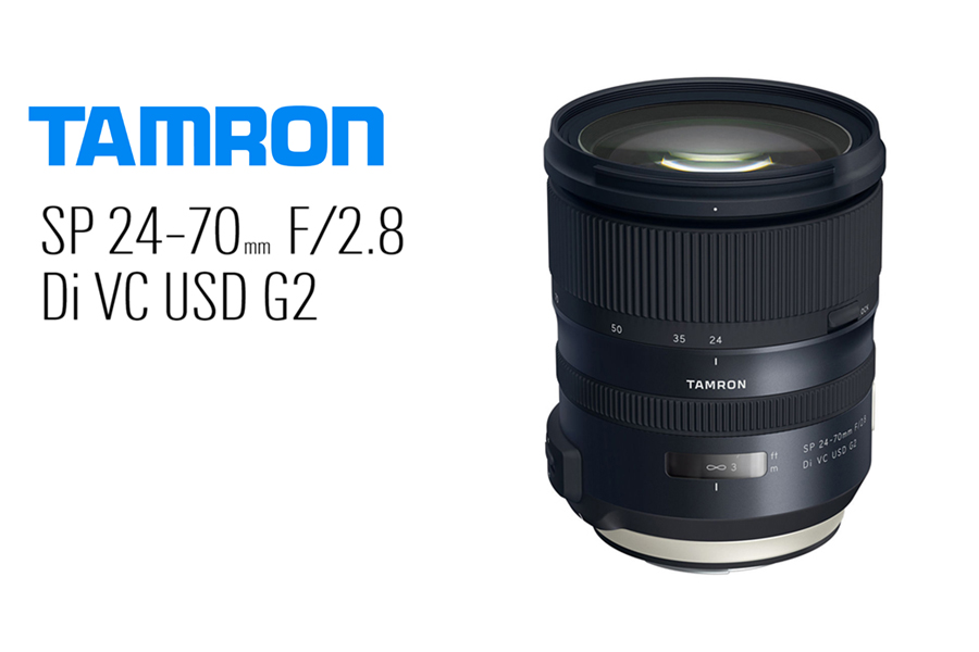 Tamron SP 24-70mm f/2.8 Di VC USD G2 Lens