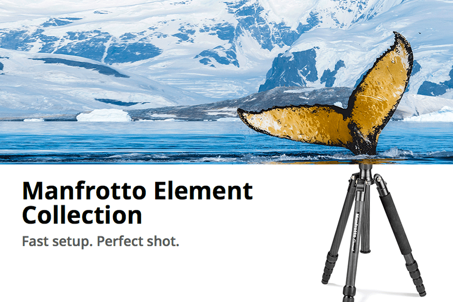 Manfrotto Element Tripod Carbon Fiber