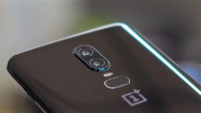 OnePlus 6 fotoaparát