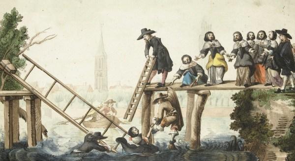 Harmen ter Borch: De Gebroken Brug, 1655, Rijksmuseum