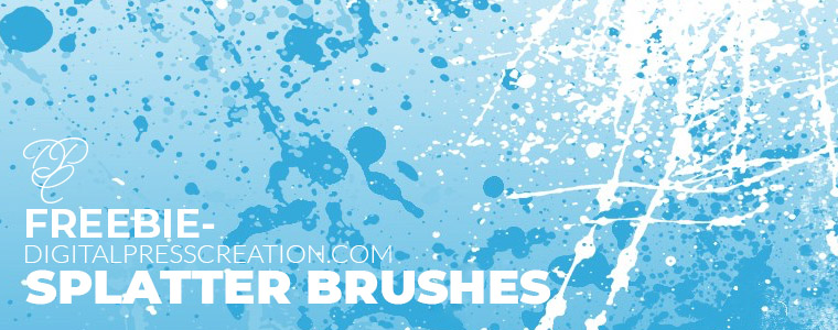 Freebie Splatter Brushes Corelila