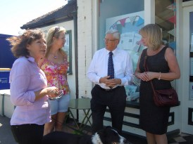 Surrey leader David Hodge and Cabinet Member Helyn Clack talk about the Community Improvements Fund
