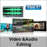 video audio editing