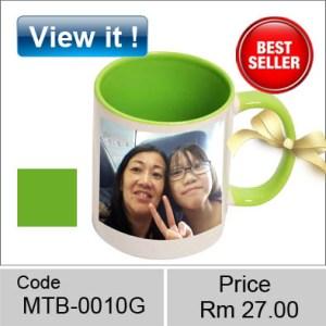 color green mug